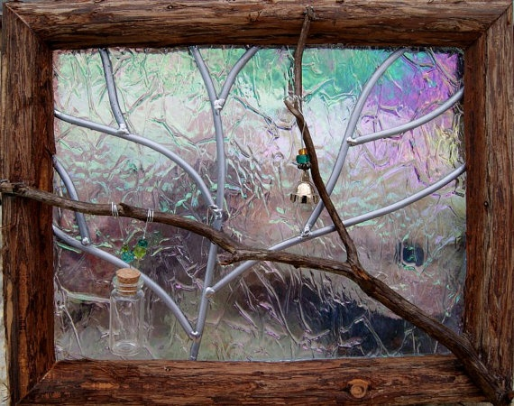 cedar frame: Stained Glass Windows, Trees Stained, Winter Trees, Window Pet, Window Memories, Stained Glasses Window, Pet Memories, Doors Windows Stained Glasses, Cedar Frames