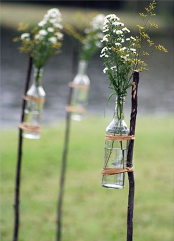 170 best wedding decoration ideas images on pinterest weddings rethinking my previous aisle decor idea this would be so cute at our mountaintop wedding junglespirit Image collections