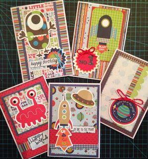Blast Off Kerry's Crafty Cards and Cuts: A Retreat achieves so much more!