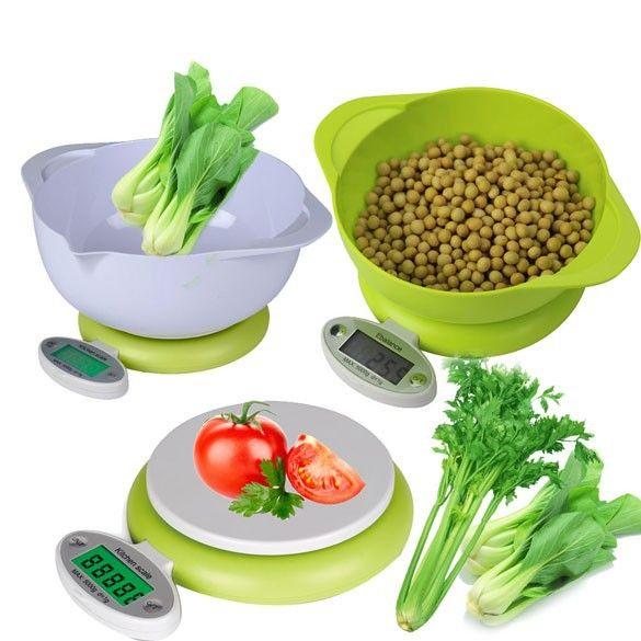 Hot !!! Practical 5KG/1g LCD Display Digital Scale Electronic Kitchen Food Diet Postal Scale Weight Tool with Tray Green #>=#>=#>=#>=#> Click on the pin to check out discount price, color, size, shipping, etc. Save and like it!