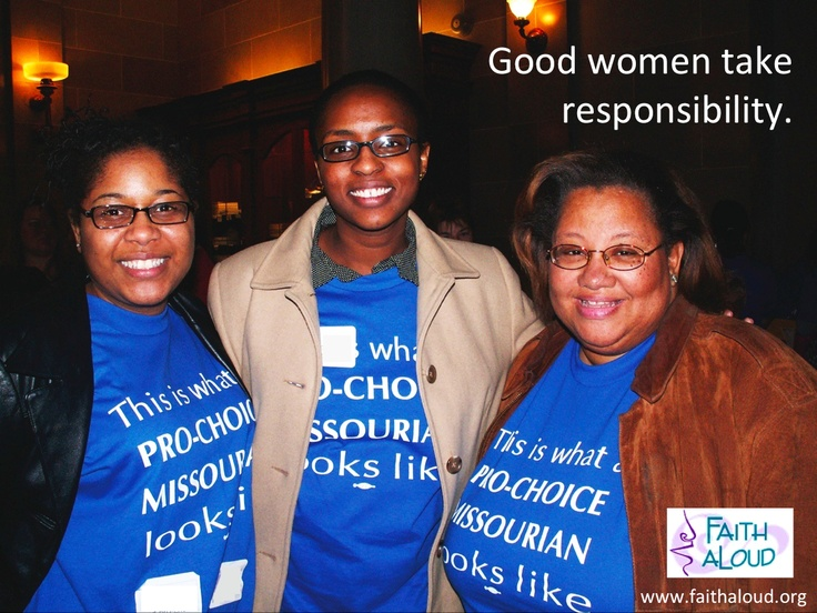 Good Women Take Responsibility: Ecards