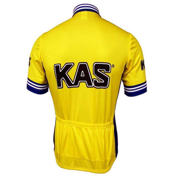 KAS Retro Short Sleeve Cycling Jersey | Freestylecycling.com