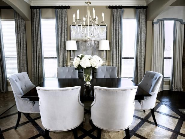 Transitional | Dining Rooms | Emily Johnston Larkin : Designer Portfolio : HGTV - Home & Garden Television