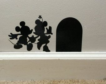 Disney Mickey & Minnie Mouse Decal Disney Wedding by BearsCreate