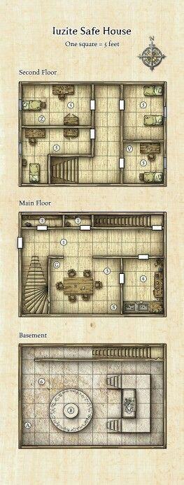 Dnd Safe Room Idea