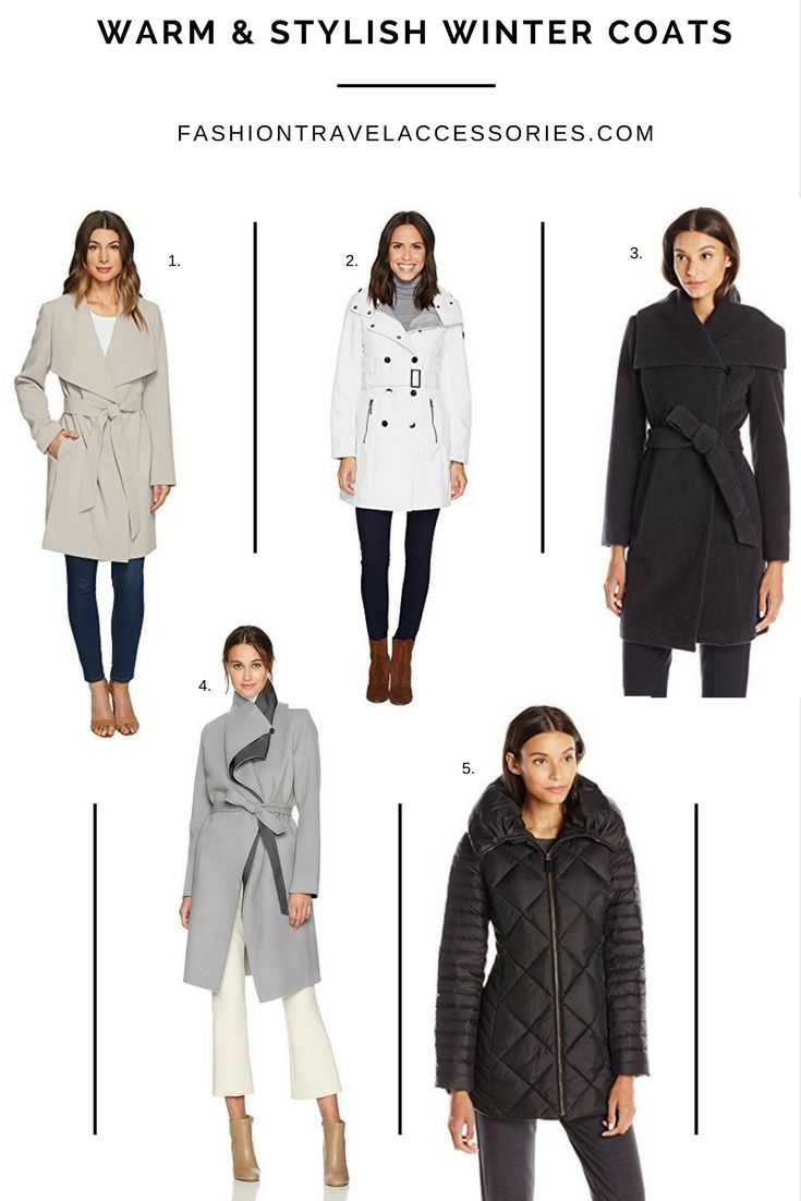 Warm but stylish winter coats recommend to wear in on every day in 2019