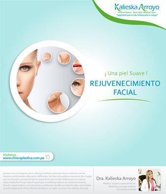 Kalieska Arroyo |  Rejuvenecimiento facial y una piel suave