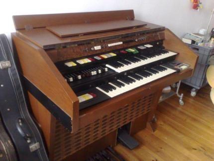 Original 70er Jahre Hammond-Orgel (vermutlich T-200) in Berlin - Kreuzberg | Musikinstrumente und Zubehör gebraucht kaufen | eBay Kleinanzeigen