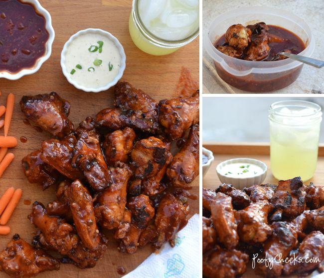 Hawaiian Chicken Wing Sauce - finger lickin' good!