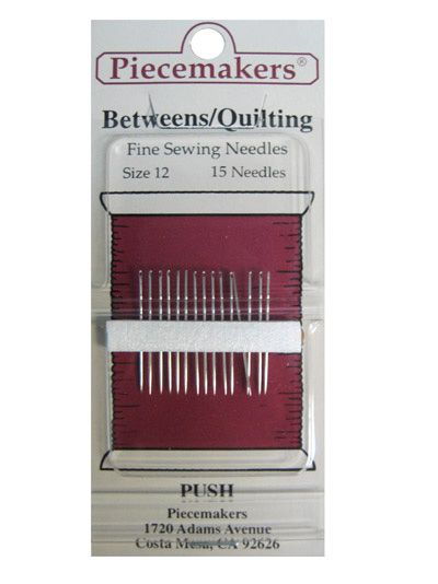 34 best Piecemakers Needles images on Pinterest | Ps, Dolls and ... : best hand quilting needles - Adamdwight.com
