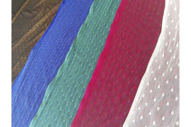 Tela elástica de tul plumeti. Tul elástico translúcido, con poco cuerpo, muy caído y ligero. La tela de tul es un tejido elástico ideal para aplicaciones trajes de flamenca y todo tipo de aplicaciones.#tul #plumeti #colores #elástico #translúcido #caído #ligero #aplicaciones #trajesdeflamenca #confección #tela #telas #tejido #tejidos #textil #telasseñora #telasniños #comprar #online #comprartelas #compraonline