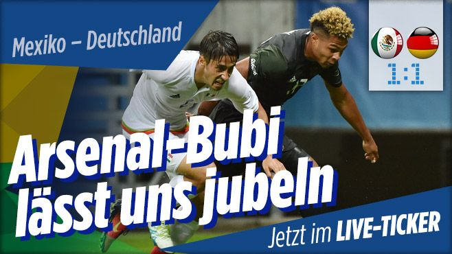 Olympia 2016: Fussball Deutschland - Mexiko