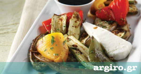 Ψητά λαχανικά στο φούρνο και σως βαλσάμικο από την Αργυρώ Μπαρμπαρίγου | Συνδυάστε τα λαχανικά με το μανούρι και θα έχετε ένα πιάτο που μοσχοβολάει Ελλάδα!