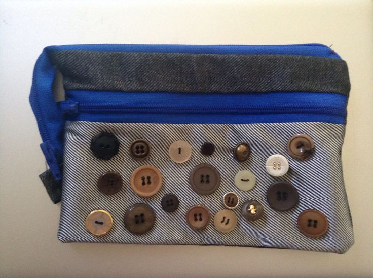 Button pencil case-Ethan's by Max