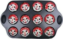 Ophia cupcakes!! Such a fun idea for Rush cupcakes!!