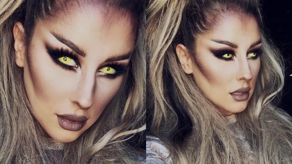 Faça uma maquiagem bem assustadora para a noite de Halloween! #maquiagem #halloween #fantasias