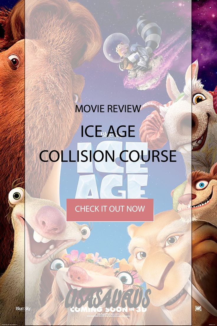 Ice Age Collision Course Movie Review. Lisasaurus reviews it, school holiday…
