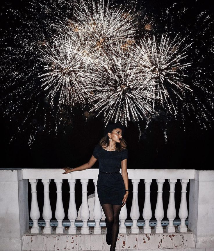 """1,151 Likes, 17 Comments - Diane Glaoua (@theclassytime) on Instagram: """"[00:00] 🙈🥂Welcoming 2018 under the most beautiful sky! I feel this year is going to be very…"""""""