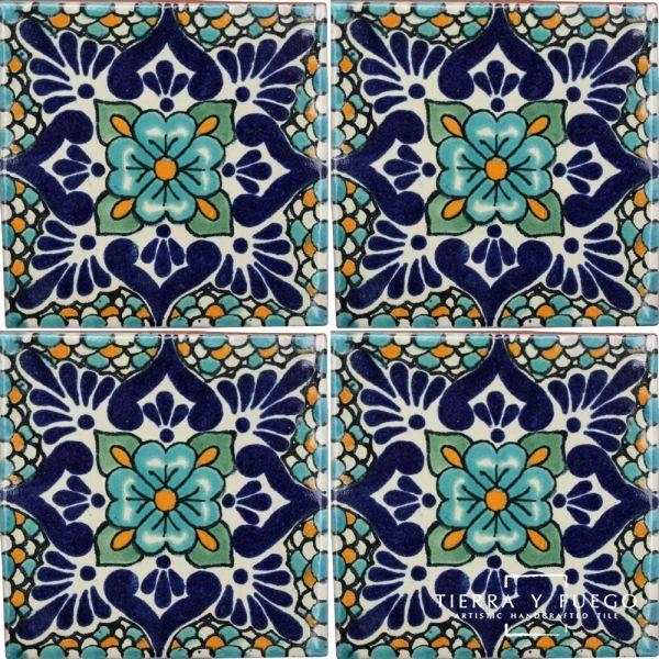 Polanco 2 Talavera Mexican Tile