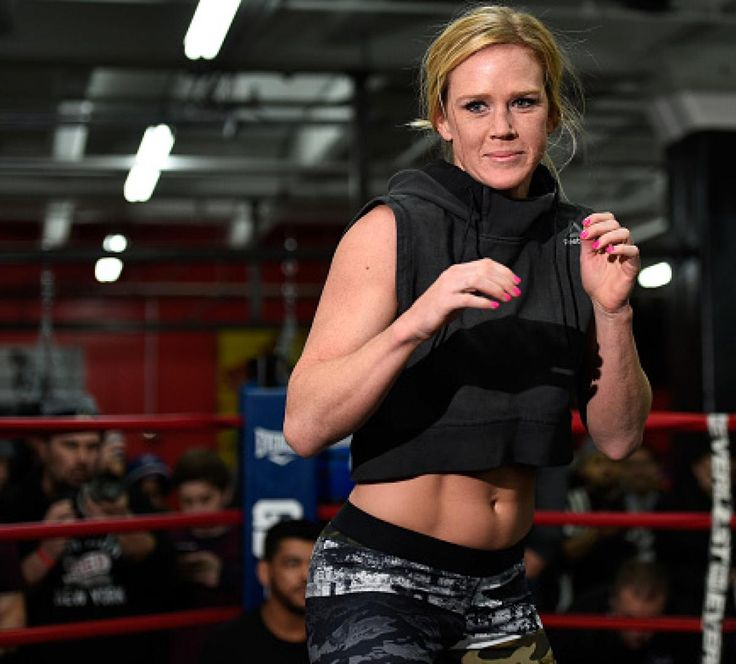 Holly Holm today discussed fighting in a city notorious for it's boxing, what it means to get a second UFC title, and how she found inspiration from the Super Bowl.