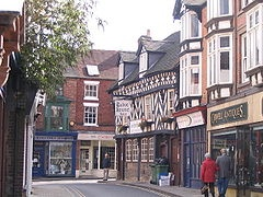 Market Drayton is a small town in England. My maternal grandfather's family is from this town.