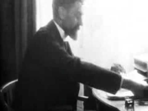 The only extant footage of Roger Casement (1864-1916)