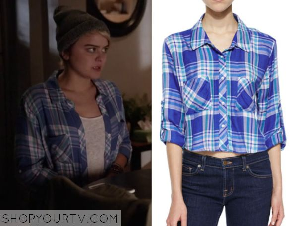 Kevin From Work: Season 1 Episode 5 Roxie's Blue Plaid Shirt