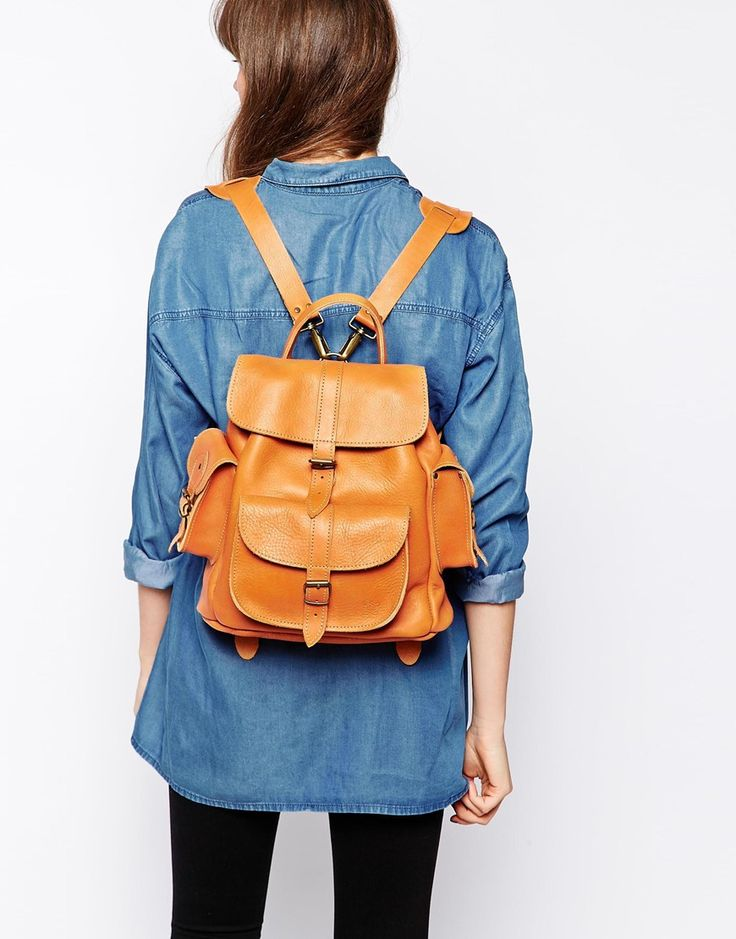 Backpacks, Tans and Tan leather on Pinterest