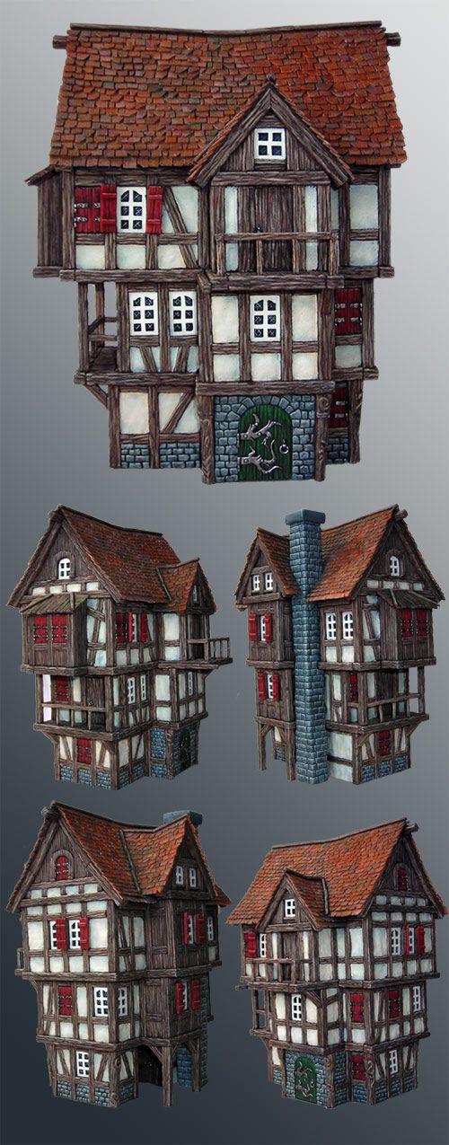 scratchbuilt house
