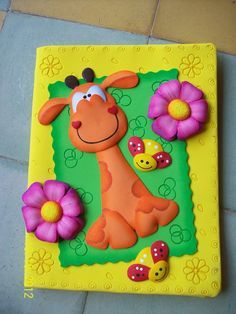 Imajenes en foami para decorar carpetas - Imagui