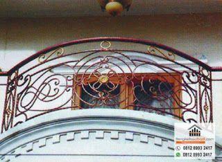 Balkon Minimalis, Balkon Klasik, Railing Balkon Kayu, Railing Balkon Besi Tempa Hubungi Kami 0812 89: Railing Balkon Dapat Terbuat Dari Dinding Bata, Be...