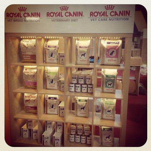 Crufts: Royal Canin display #crufts #crufts2014