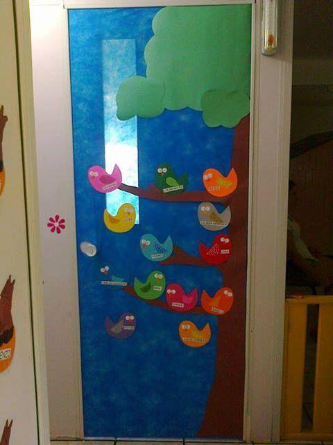 el arte de educar idea para adornar la puerta del aula