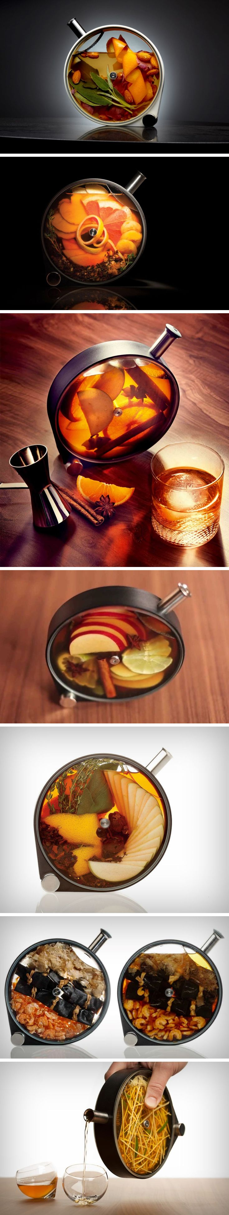 The Porthole Infuser does exactly what you think it does. Moreover, it looks great while doing it. Made for the most delicious and Instagram-worthy infusions, the Porthole can make everything from infused cocktails, to syrups, to oils, dressings, or even cold-brewed artisan teas and coffees. BUY NOW!
