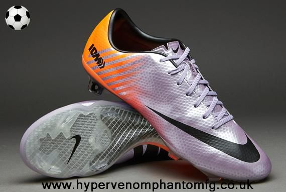 IX Fast Forward 10 Edition FG Nike Mercurial Vapor (Purple/Black/Orange) For Sale