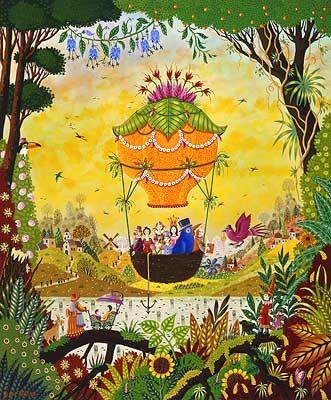 17 best images about art naif on pinterest folk art for Alain thomas
