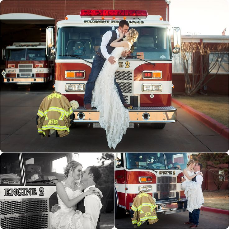 Fire Fighter Wedding  Piedmont Wedding Photographer – Jeter Wedding – Photos by Keshia