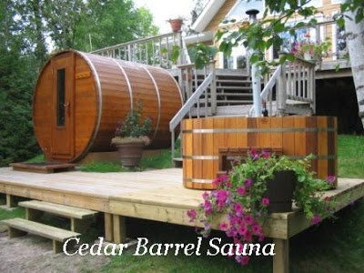 how to make your own outdoor sauna