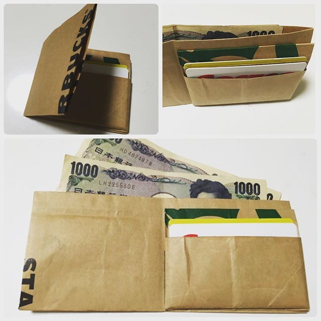 身近なコーヒーショップであるStarbucks Coffee(スターバックスコーヒー)のロゴは、緑が基調になっているシックなデザイン。そんなスタバのおしゃれな紙袋をリメイクして、ペーパーウォレットを手作りできるのをご存知ですか?ハサミや接着剤を使って折り紙するだけで、お札やカードの収納ケースとして実用的に使えるウォレットをDIYできるんです♪手順の動画を参考にしながらぜひ手作りしてみてくださいね♪
