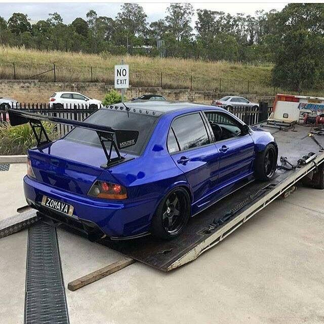 #Mitsubishi #Evo #Wide_Body #Modified