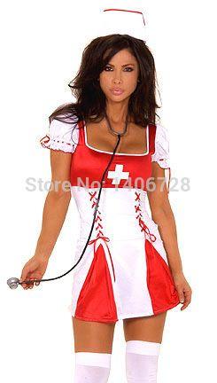 Horny costume sex uniform