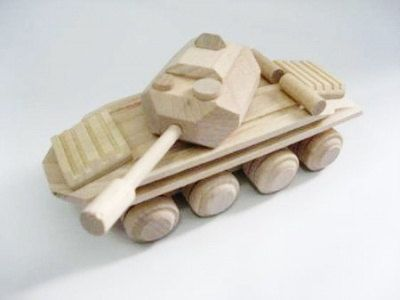 Tank organichandcrafted wooden toys ecofriendly handmade от EcoToy, $22.99