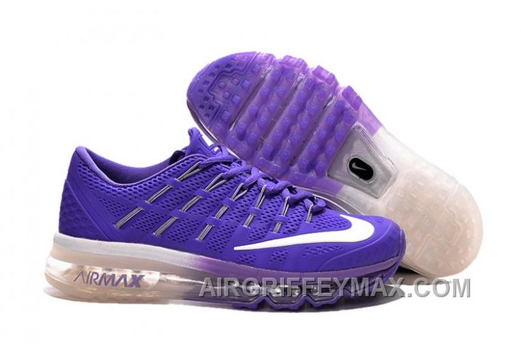 http://www.airgriffeymax.com/new-arrival-air-max-2016-blue-purple-white.html NEW ARRIVAL AIR MAX 2016 BLUE PURPLE WHITE Only $89.00 , Free Shipping!