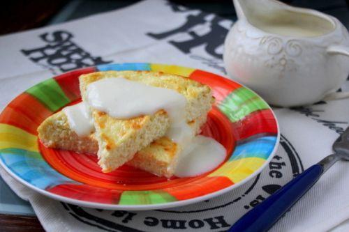 Пудинг из творога с яблоками как в детском саду — рецепт с пошаговыми фото