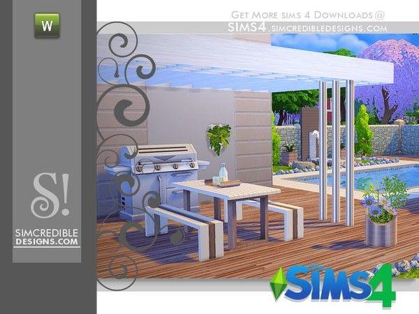 SIMcredible!'s Flora picnic table