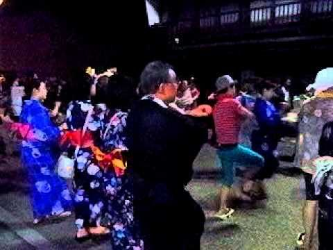 harukoma2010 08-16 郡上踊り 徹夜踊りで 春駒
