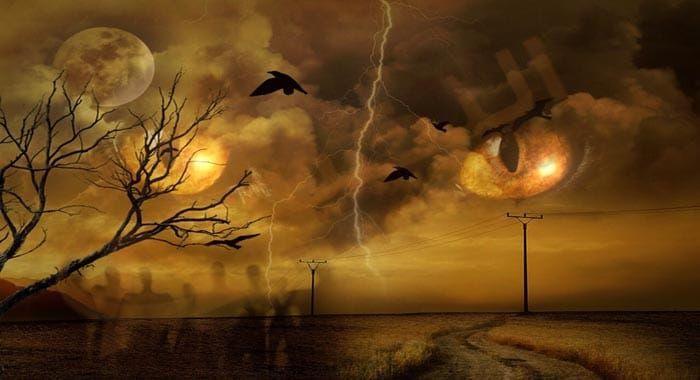 تفسير حلم رؤية الكابوس في المنام معنى الكابوس في الحلم للعزباء والمتزوجة والحامل والرجل دلالات الكابوس وقراءة القرآن Mysterious Universe Haunted Tree Mothman