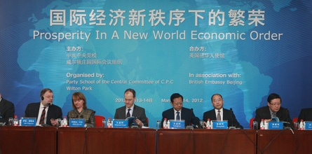 China - we held an event in Beijing this year to discuss prosperity.