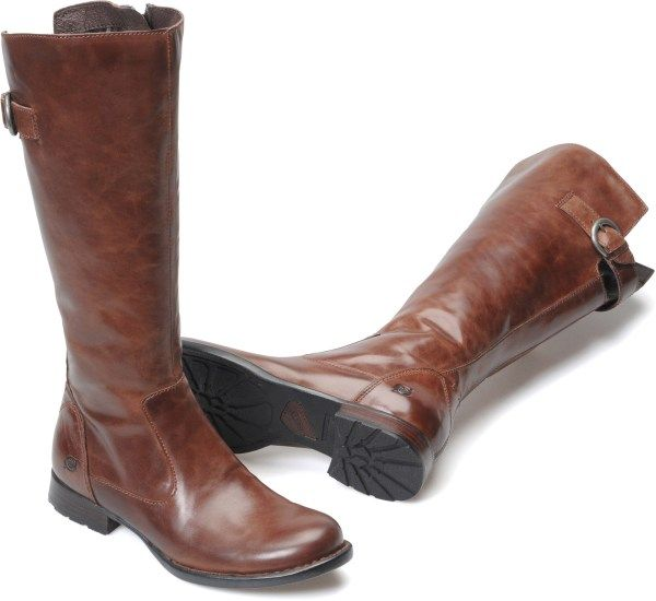 Born Boots- best brand boots I've ever purchased in black and in brown.