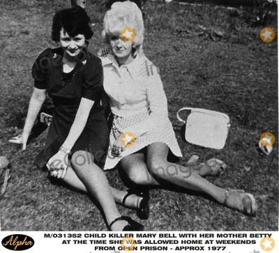 M/031352 Child Killer Mary Bell with Her Mother Betty at the Time She Was Allowed Home at Weekends From Open Prison - Approx 1977